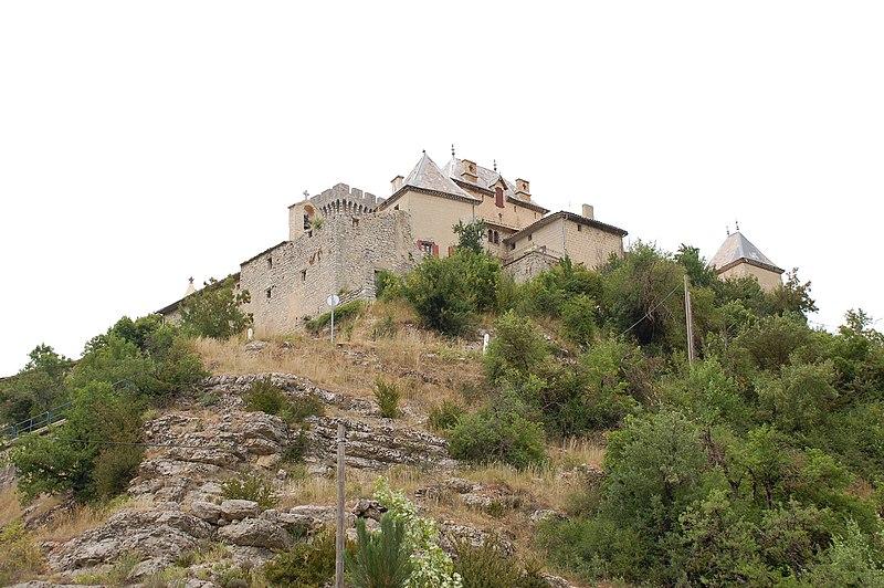 Photo du Monument Historique Château situé à Aulan
