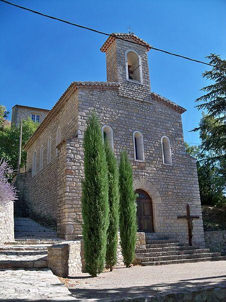 Photo du Monument Historique Eglise Saint-Laurent situé à Barret-de-Lioure