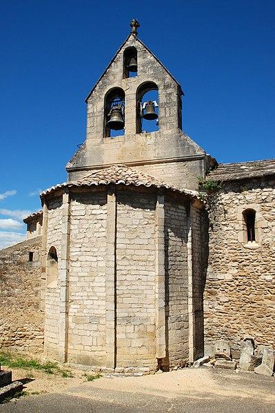 Photo du Monument Historique Eglise situé à La Baume-de-Transit