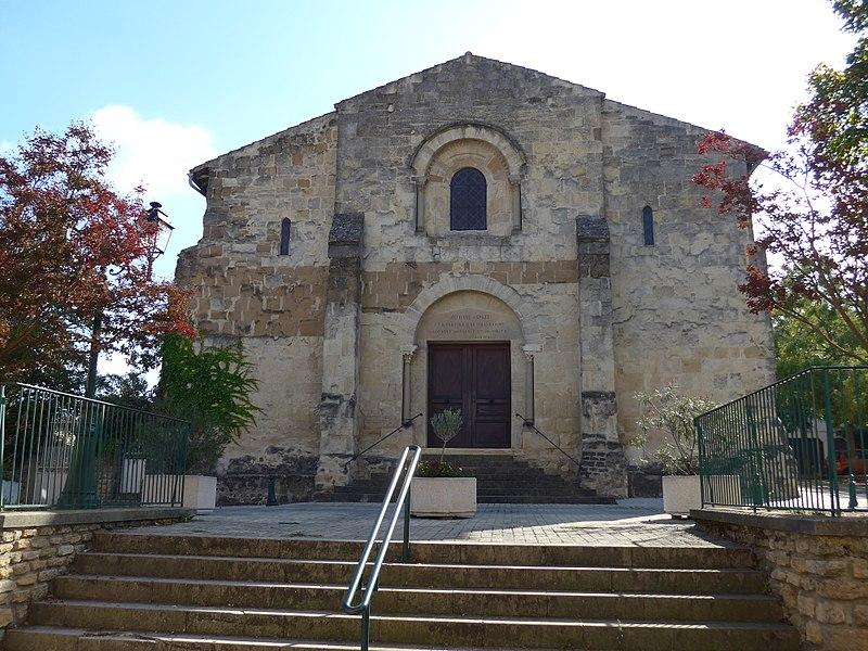 Photo du Monument Historique Eglise-temple situé à Beaumont-lès-Valence