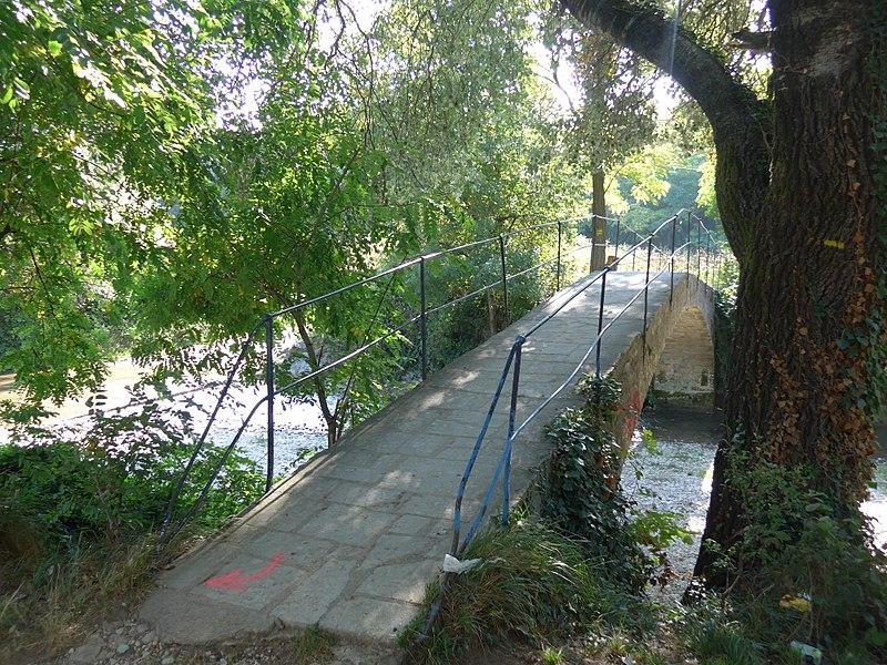 Photo du Monument Historique Pont sur la Véore situé à Beaumont-lès-Valence
