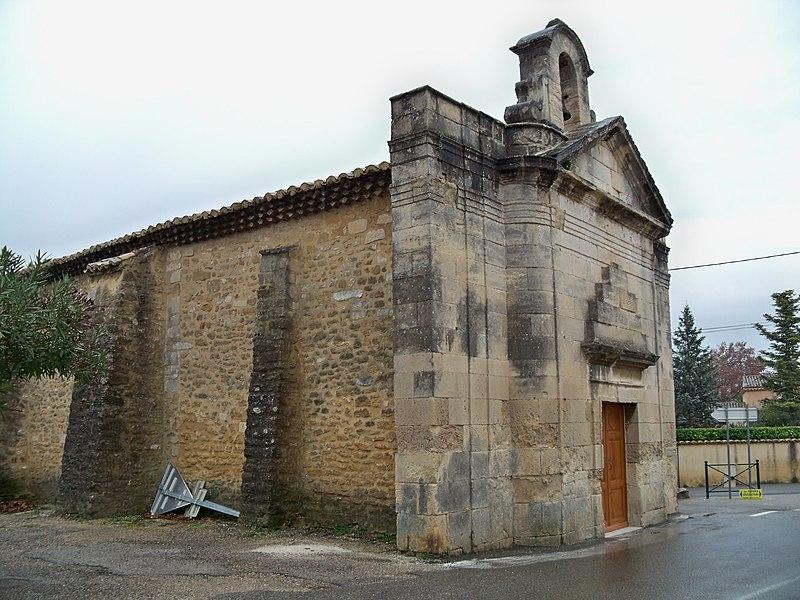 Photo du Monument Historique Chapelle Saint-Sébastien situé à Bouchet