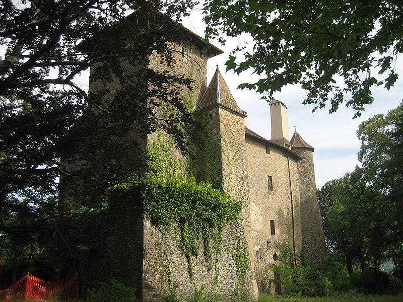 Photo du Monument Historique Château situé à Charmes-sur-l'Herbasse