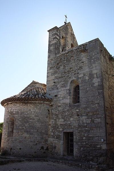 Photo du Monument Historique Eglise situé à Clansayes