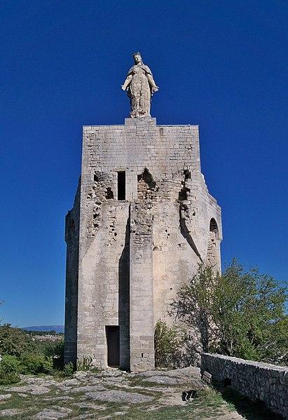 Photo du Monument Historique Tour - donjon situé à Clansayes