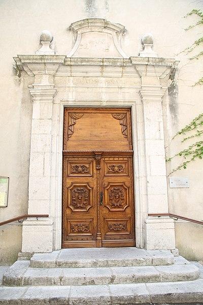 Photo du Monument Historique Temple protestant situé à Die