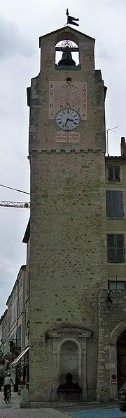 Photo du Monument Historique Beffroi situé à Dieulefit