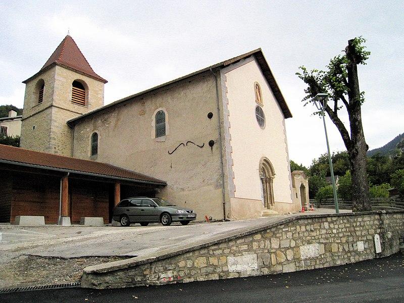 Photo du Monument Historique Eglise situé à Glandage