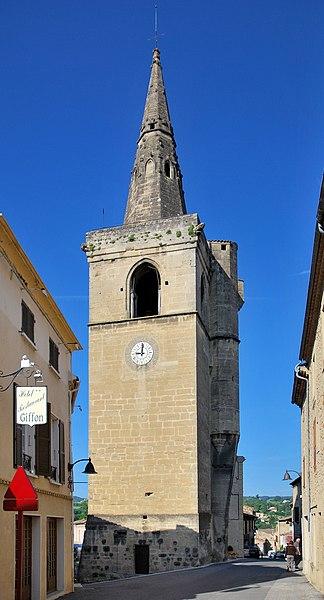Photo du Monument Historique Beffroi situé à Grane