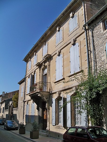 Photo du Monument Historique Maison Flachère de Roustan situé à Grignan
