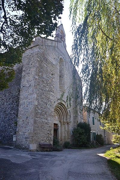 Photo du Monument Historique Eglise Notre-Dame-de-Calma situé à Lachau