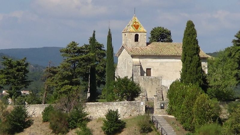Photo du Monument Historique Chapelle Saint-Michel situé à La Laupie