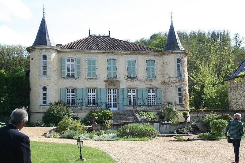 Photo du Monument Historique Château du Double situé à Lens-Lestang