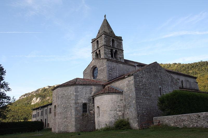Photo du Monument Historique Eglise abbatiale Sainte-Marie situé à Léoncel