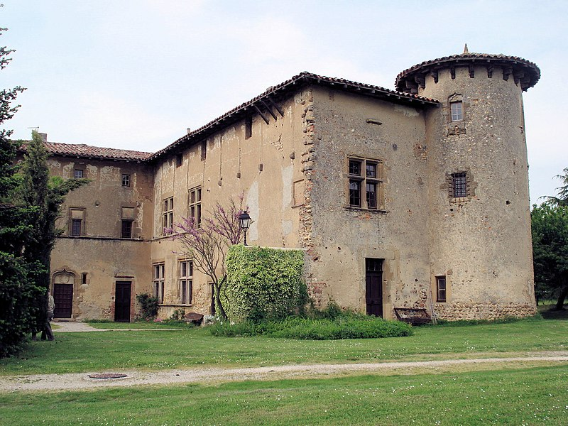 Photo du Monument Historique Prieuré situé à Manthes