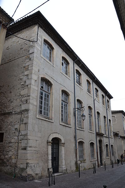 Photo du Monument Historique Hôtel de Chabrillan situé à Montélimar