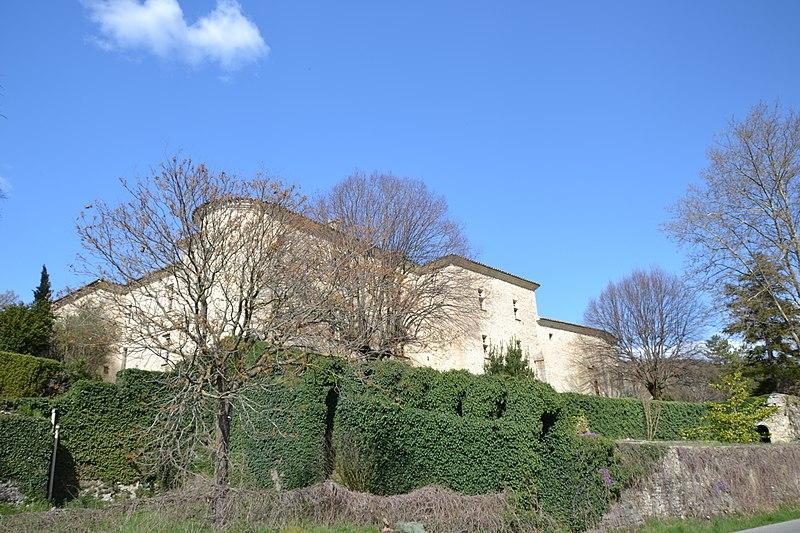 Photo du Monument Historique Château situé à Montjoux