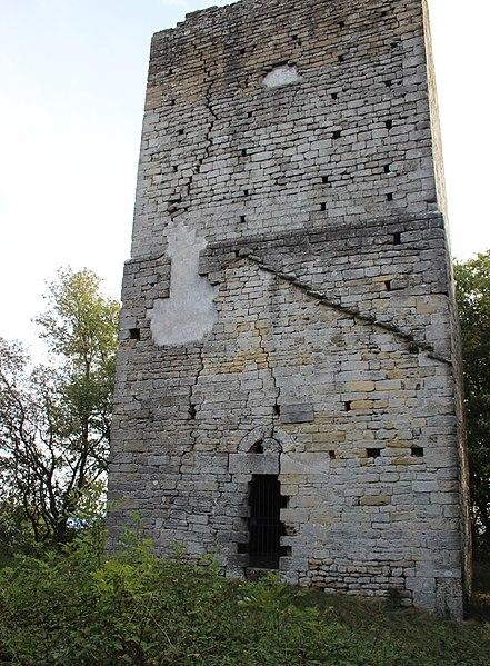Photo du Monument Historique Tour (vieille) situé à Montmiral