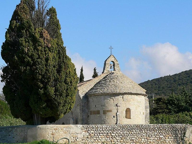 Photo du Monument Historique Chapelle Sainte-Anne situé à Le Pègue