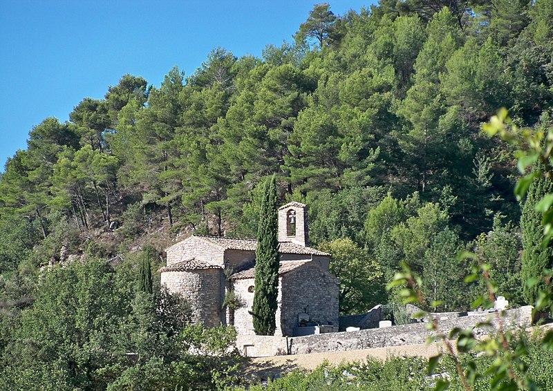 Photo du Monument Historique Chapelle Notre-Dame-des-Aspirants situé à Penne-sur-l'Ouvèze (La)