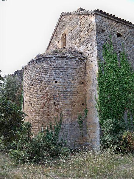 Photo du Monument Historique Chapelle Notre-Dame-des-Aubagnons situé à Rochegude