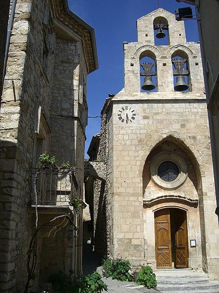 Photo du Monument Historique Eglise situé à Rousset-les-Vignes