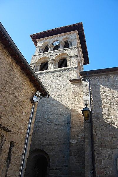 Photo du Monument Historique Eglise collégiale situé à Saint-Donat-sur-l'Herbasse