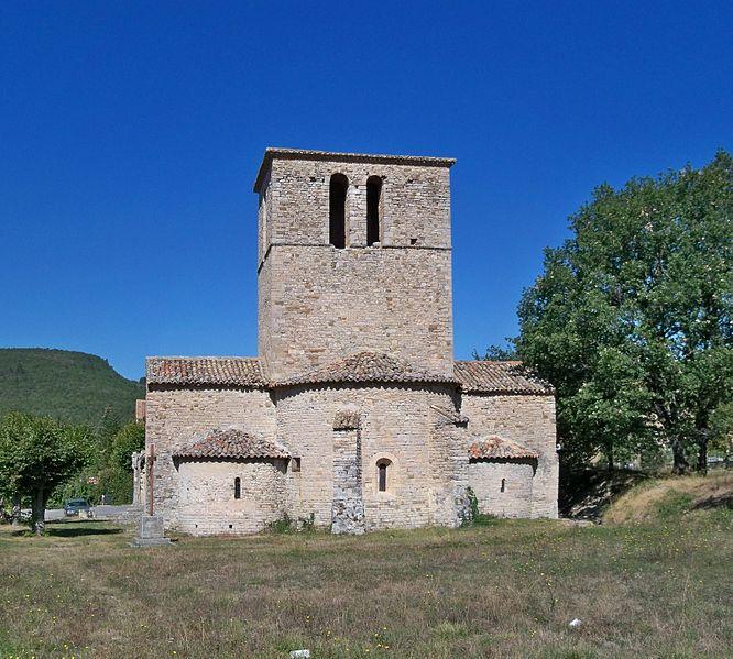 Photo du Monument Historique Eglise situé à Sainte-Jalle