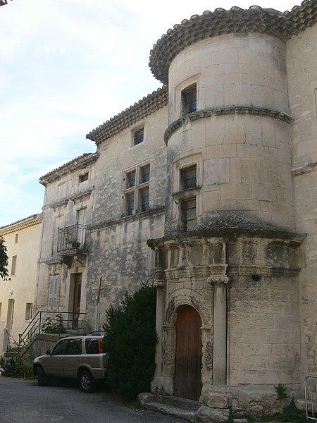 Photo du Monument Historique Hôtel situé à Saint-Restitut
