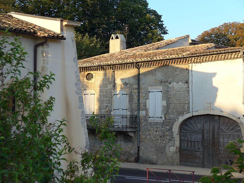 Photo du Monument Historique Relais de poste aux chevaux situé à Saulce-sur-Rhône