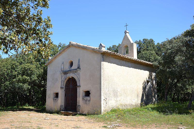 Photo du Monument Historique Chapelle funéraire des Seigneurs de la Baume situé à Suze-la-Rousse