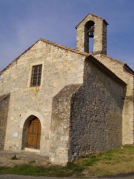 Photo du Monument Historique Chapelle Saint-Didier situé à Tourrettes (Les)