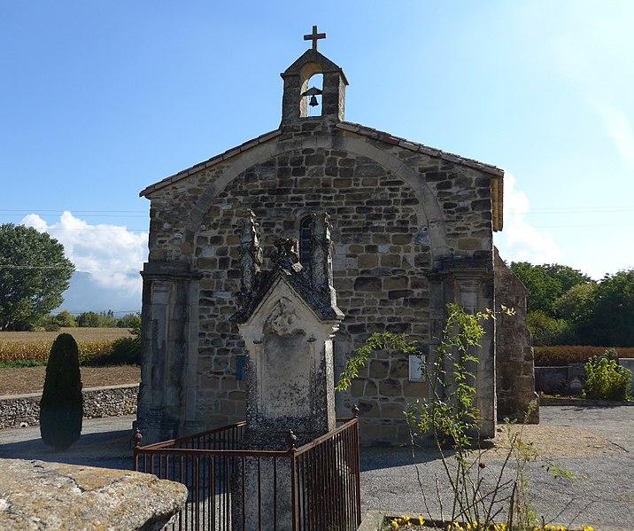 Photo du Monument Historique Chapelle du cimetière situé à Upie
