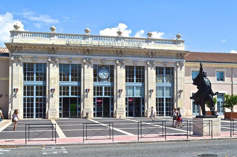 Photo du Monument Historique Gare situé à Valence