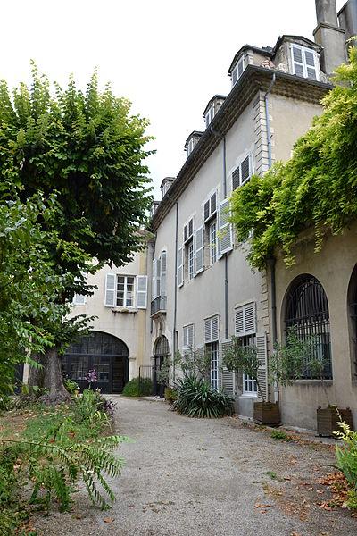 Photo du Monument Historique Hôtel du Puy-Montbrun situé à Montélimar
