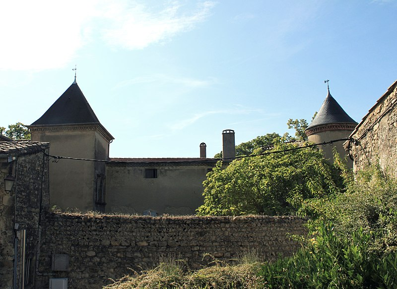Photo du Monument Historique Château du Haut-Livron situé à Livron-sur-Drôme