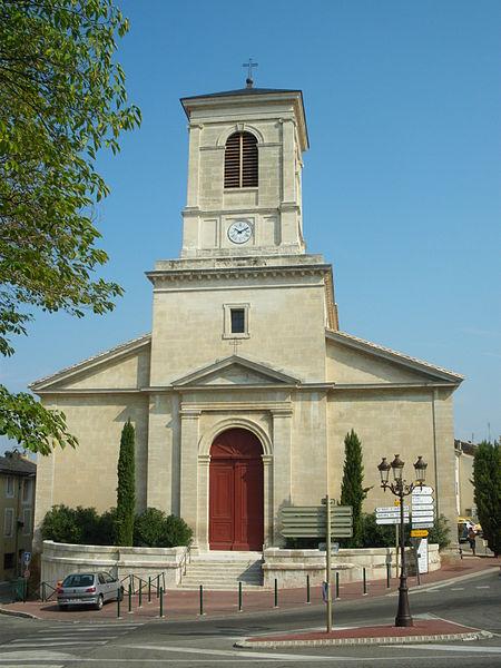 Photo du Monument Historique Eglise Saint-Bach situé à Suze-la-Rousse