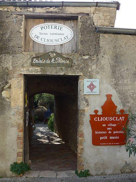Photo du Monument Historique Poterie situé à Dieulefit