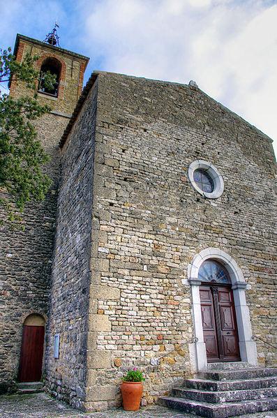 Photo du Monument Historique Eglise Notre-Dame de Porporières situé à Mérindol-les-Oliviers