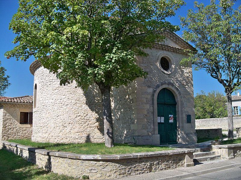 Photo du Monument Historique Temple protestant situé à Taulignan