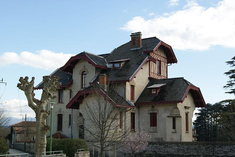 Photo du Monument Historique Villa Sestier situé à Sauzet
