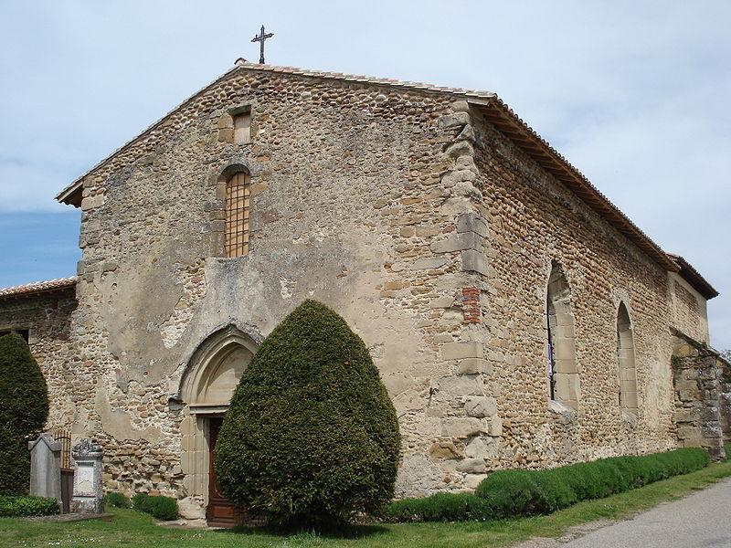 Photo du Monument Historique Ancien couvent franciscain dit prieuré de Charrière situé à Châteauneuf-de-Galaure