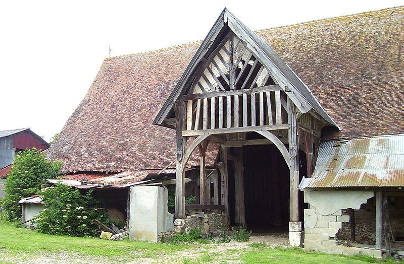 Photo du Monument Historique Manoir de la Haule situé à Aclou