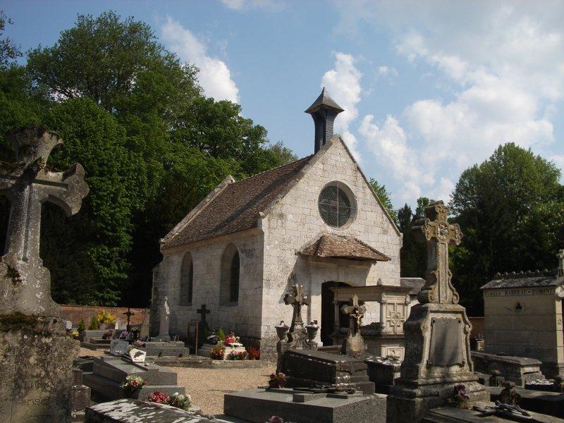 Photo du Monument Historique Chapelle du cimetière situé à Acquigny