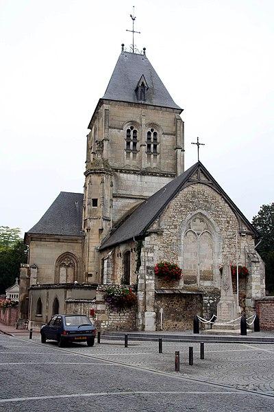 Photo du Monument Historique Eglise situé à Alizay