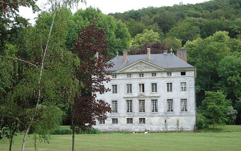 Photo du Monument Historique Château d'Amfreville (également sur commune d'Acquigny) situé à Amfreville-sur-Iton