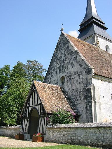 Photo du Monument Historique Eglise situé à Amfreville-sur-Iton