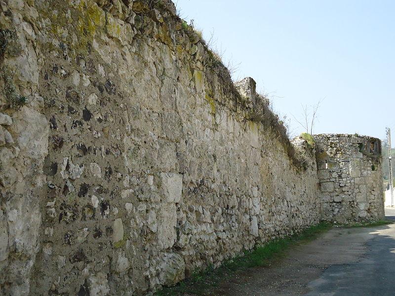 Photo du Monument Historique Vestiges de l'enceinte du Grand-Andely situé à Les Andelys