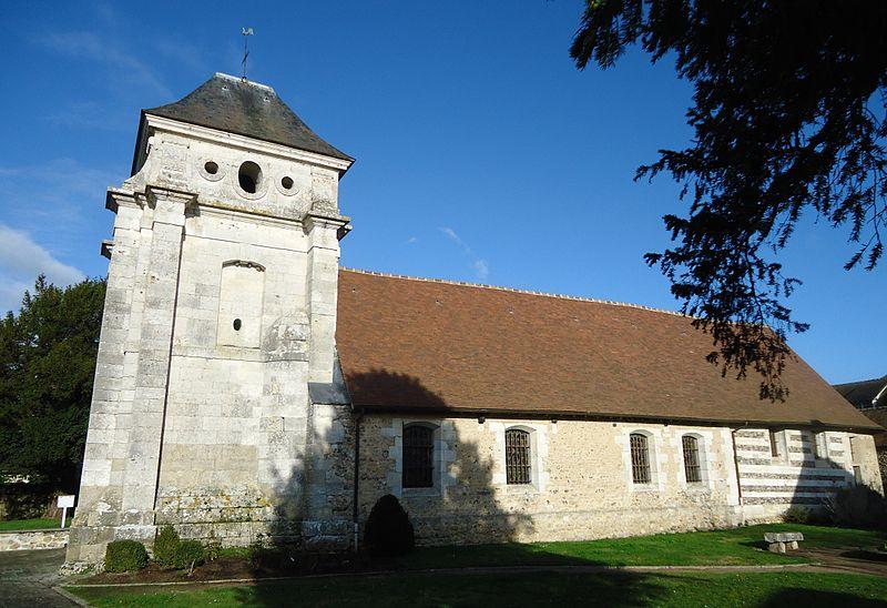 Photo du Monument Historique Eglise Saint-André situé à Autheuil-Authouillet