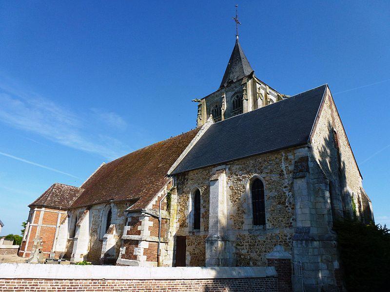 Photo du Monument Historique Eglise Saint-Crépin et Saint-Crépinien situé à Barc